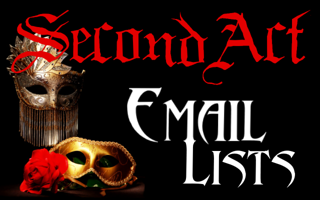 SecondAct Email Lists